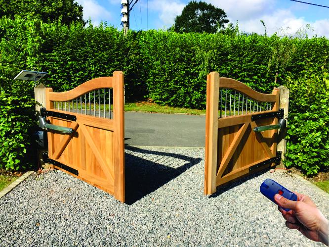 Solar Swing Gate Opener