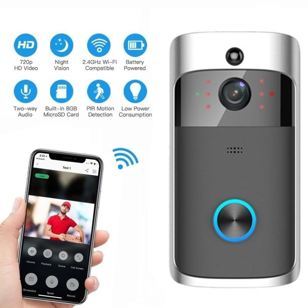 Wireless Video Door + Solar Power Bank